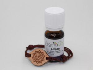 Bracelet en bois Chakra du Plexus Solaire – Manipura