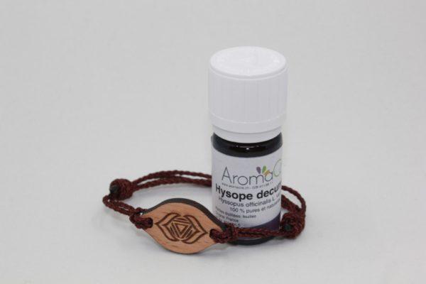 Bracelet en bois Chakras du 3ème œil – Ajna